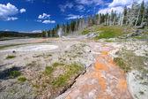 Grand Geyser Yellowstone National Park — Stock Photo