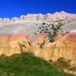 Badlands National Park South Dakota — Stock Photo