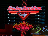 Harley Davidson Las Vegas Cafe — Stock Photo