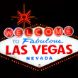 Stock Photo: Welcome to Fabulous Las Vegas