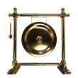Gold gong — Stock Photo #9236641