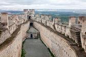 Castle of Penafiel in Valladolid — Stock Photo