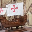 Spanish caravels - Stock Photo
