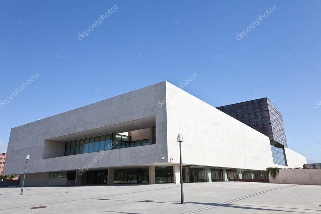 Valladolid, Spain, September 5, 2011. Building the regional parliament of Castilla and Leon — Stock Photo #10725524