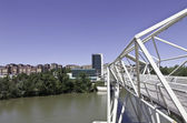 Pisuerga řeka valladolid — Stock fotografie