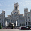 Stock Photo: Plazde Cibeles in Madrid