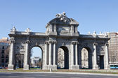 Puerta de Alcala in Madrid — Stock Photo