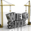 Foto Stock: Web construction