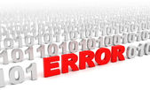 Error in code — Stock Photo