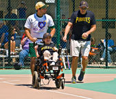 Miracle League Softball — Stock Photo