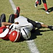 Youth Football Tackle — Stock Photo