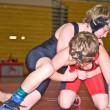 Youth Wrestlers in Tournament — Stock Photo #8444556