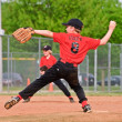 Throwing a Pitch Boy's Baseball — Stock Photo