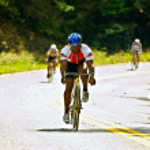 Постер, плакат: Bicycle Race