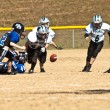 Little League Football Loose Ball — Stock Photo