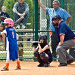 Stock Photo: Girl's Softball Batter