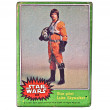 Star Wars Trading Card Luke Skywalker - Stock Photo