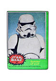 Original Star Wars Card Soldier of Evil — Stock Photo