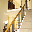 Stock Photo: Stairway in Modern Home