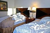 Chambre de motel à matin — Photo