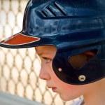 Sad Baseball Player — Stock Photo #8961993