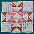 Antique Quilt Pattern — Stock Photo #8967969