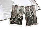 Old Military Photos — Stock Photo