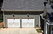 Garage Doors — Stock Photo