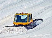 Snowplow at Work — Stock Photo