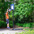 Young Basketball Player — Stockfoto