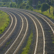 Stock Photo: Rail roads