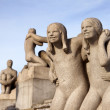 Vigeland Park in Oslo, Norway - Foto Stock