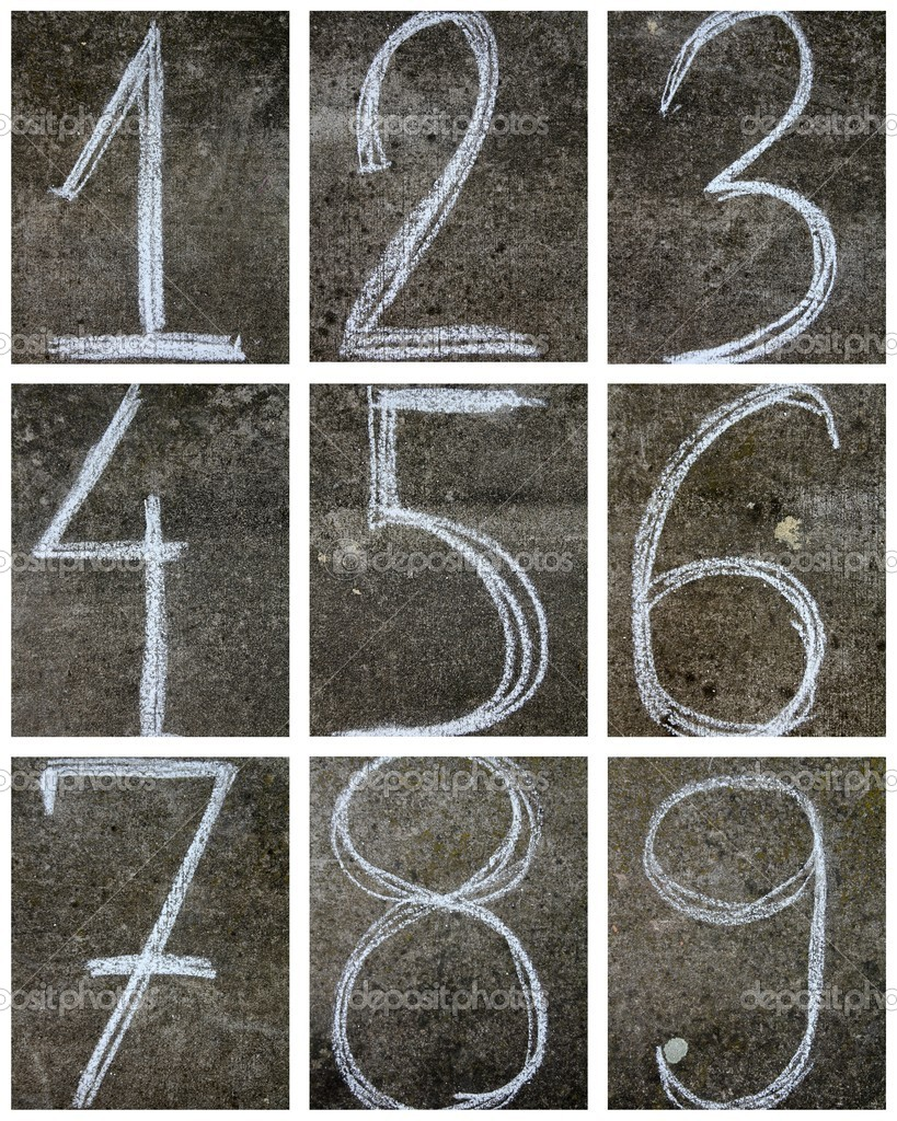 Numbers  Stock Photo #10158318