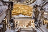 Sant'agnese in agone in rome, italië — Stockfoto