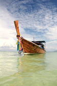 Long tailed boat in Thailand — Stock Photo