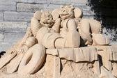 砂の城 — ストック写真