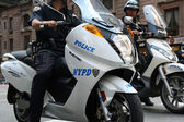 New York policemans — Stock Photo