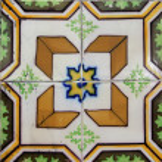 Lisbon tiles — Stock Photo #8058810