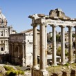 Roman Forum in Rome, Italy - Foto de Stock