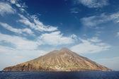 Stromboli volcano in Italy — Stock Photo