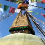 Temple in Kathmandu, Nepal — Stock Photo #8958273