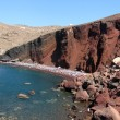 Red beach at Santorini Island, Greece — Stock Photo