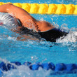 Stock Photo: Swimming