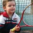 Royalty-Free Stock Photo: Tennis boy
