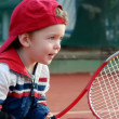 Tennis boy - Stock Photo