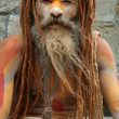 Stock Photo: Sadhu in Kathmandu