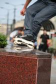 Roller skater — Stock Photo