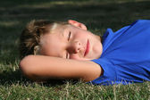 Boy in the park — Stock Photo