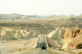 Strada per il mar morto in israele — Foto Stock
