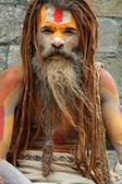 Sadhu in Kathmandu — Stockfoto